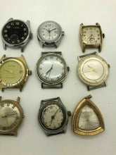 Load image into Gallery viewer, Lot Of 9 Vintage Mechanical MENS Wrist Watch, Chronograph Types And More B23