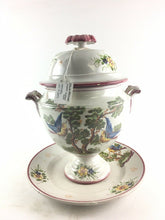 Load image into Gallery viewer, Italian Porcelain Tureen W/Under Plate 4948