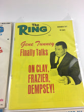 Load image into Gallery viewer, Assorted Lot Of 5 Vintage Boxing Magazines-1971-75 MINT-5496