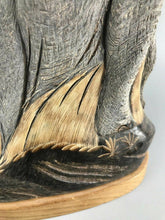 Load image into Gallery viewer, Vintage Elepant Sculpture Made From Buffalo Horn- 1166