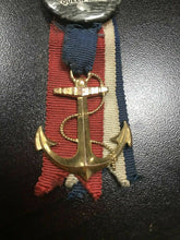 Load image into Gallery viewer, Vintage Queen Mary Ship Ribbon & Anchor