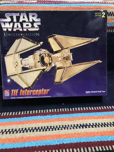 "STAR WARS MODEL KIT ""TIE INTERCEPTOR"" NIB- 9022"