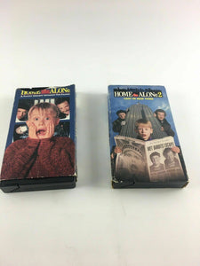 Home Alone And Home Alone 2 (VHS, 1991) 4517