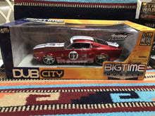 "Load image into Gallery viewer, DIECAST 1:24 SCALE JADA TOYS ""DUB CITY BIGTIME MUSCLE"" 1967 SHELBY GT-500KR-9021"