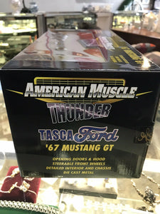 "ERTL  AMERICAN MUSCLE  THUNDER TASCA FORD '67 MUSTANG GT ""NEW"" -3194"
