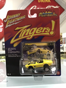 Johnny Lightning Street Freaks Zingers 72 Chevy Corvette Vicious Vette-3166