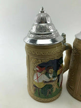 Load image into Gallery viewer, Assorted Lot Of (4) Vintage German Beer Steins-3746