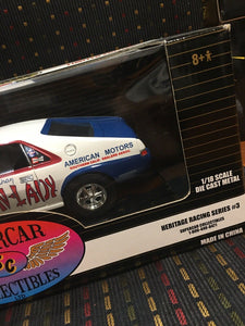 ERTL Supercar Collectables  AMX SHIRLEY SHAHAN DRAG ON LADY 1/18th