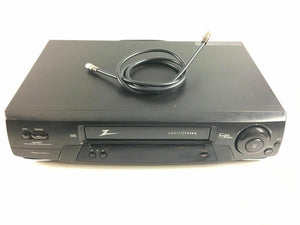 Zenith IQVB425 VCR 4-Head Video Cassette Recorder Player VHS HI-FI - Lot 3987