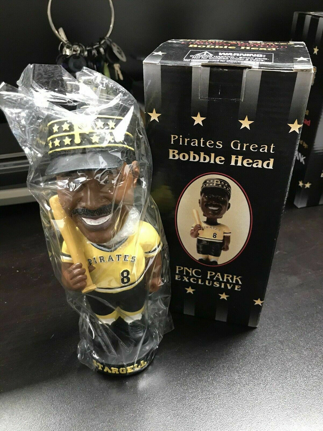 NIB PNC Park Exclusive Willie Stargell Bobble Head-2341