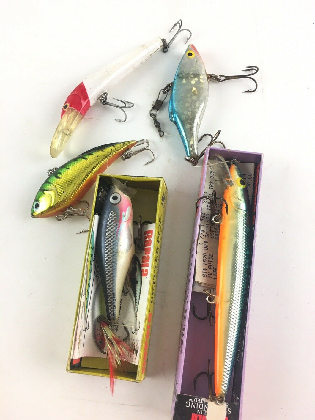Vintage Fishing Lures Lot Of 5 5397