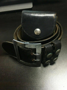 Vintage Safariland Duty Belt (size 42) With Handcuffs -3637