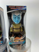 Load image into Gallery viewer, Star Trek Quogs Captain Kirk Spock Gorn Capitan Andorian Funk Bobble Heads 4 NOS