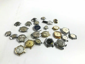 Assorted Lot Of 25 Timex Watch Dials (No Bands)- 4790