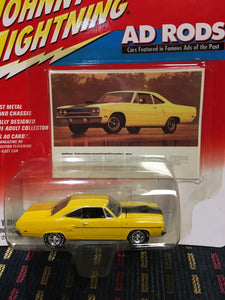 johnny lightning ad rods lot of 2