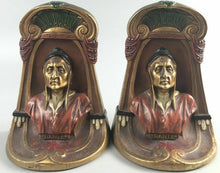 Load image into Gallery viewer, Antique Dante Bookends, Kronhein And Oldenbusch 1920's- 5313