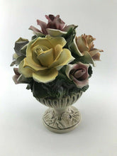 Load image into Gallery viewer, Vintage Capodimonte Flower pot - Lot 3305