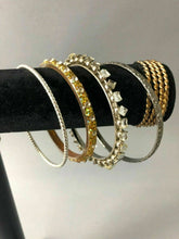 Load image into Gallery viewer, 10 ASSORTED BANGLE BRACELETS - LOT 3524