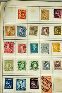 ASSORTED ANTIQUE FOREIGN AND DOMESTIC STAMPS - lot 3046