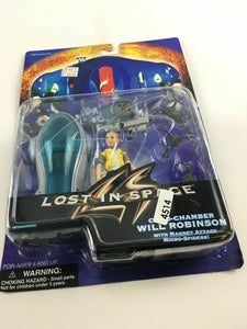 Lost In Space Cryo Chamber Will Robinson Trendmasters Action Figure 4514