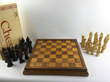 Load image into Gallery viewer, Studio Anne Carlton England Handcrafted Chess Piece Set W/ Chessboard #1450