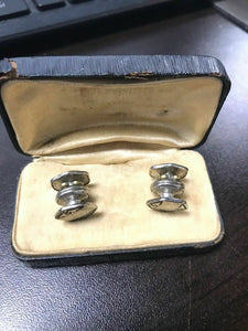 Pair Of Sterling Silver Cufflinks