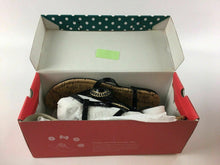 "Load image into Gallery viewer, NIB LINDSAY PHILLIPS CHANGEABLE STRAP SHOE ""MEREDITH"" BLACK SIZE 10 - LOT 4071"