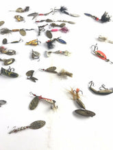 Load image into Gallery viewer, Assorted Lot Of 40 Vintage Small Fishing Lures- 5700
