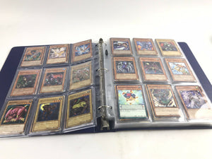 Assorted Lot Of 100+ Yu-Gi-Oh Cards W/Binder- 5717
