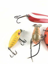 Load image into Gallery viewer, Vintage Fishing Lures Lot Of 5 5440