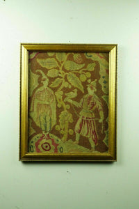 19th Century Needle Point & Peti Point Tapestry - lot 2124