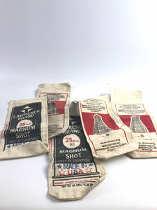 Assorted Lot Of 5 Lawerence Brand Magnum Shot Empty Bags- 5359