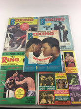 Load image into Gallery viewer, Assorted Lot Of 5 Vintage Boxing Magazines-1972-75 MINT-5498