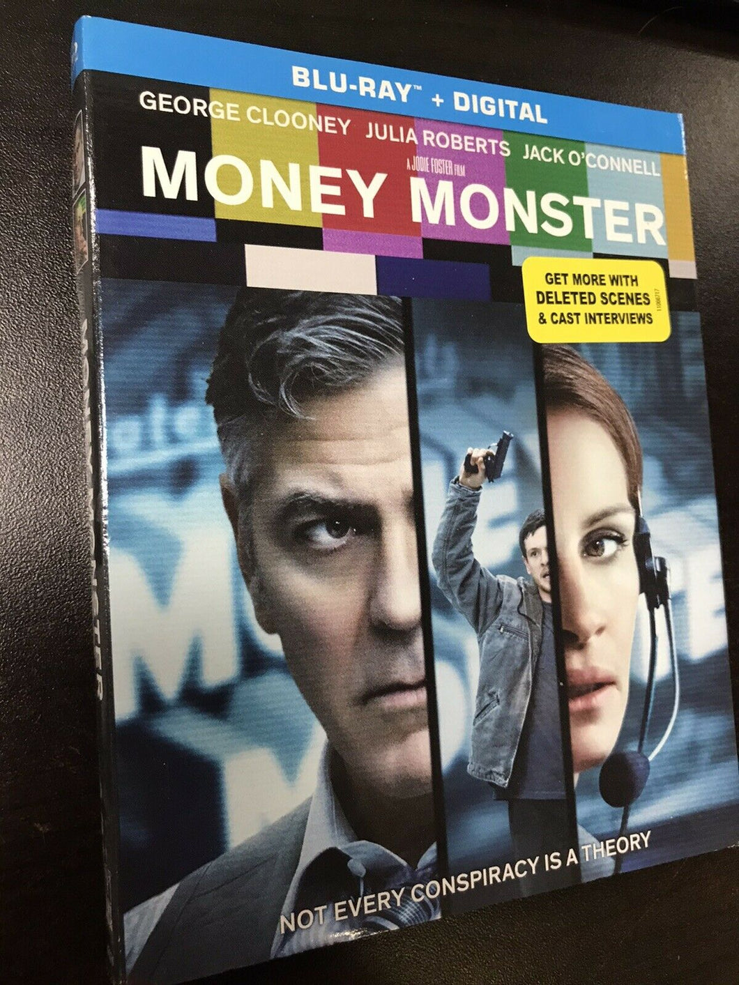 Money Monster (Blu-Ray, 2016) George Clooney, Julia Roberts -8185