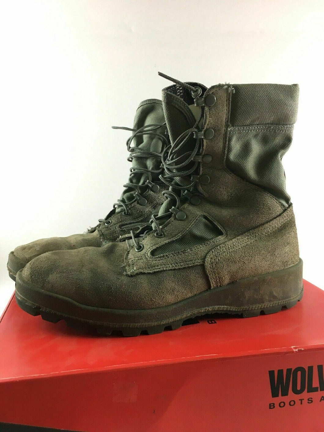 Air-Force TW Boots Sz 10  -3661