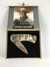 Load image into Gallery viewer, 2pc John Wayne & Indian Lock Blade Knives - Lot 3893