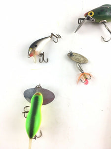 Vintage Fishing Lures Lot Of 5 5402
