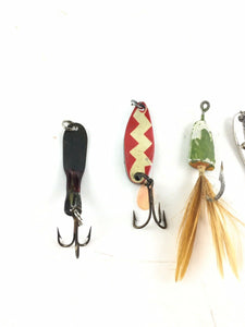 Vintage Fishing Lures Lot Of 5 5439