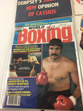 Load image into Gallery viewer, Assorted Lot Of 5 Vintage Boxing Magazines-1966-84MINT-5508