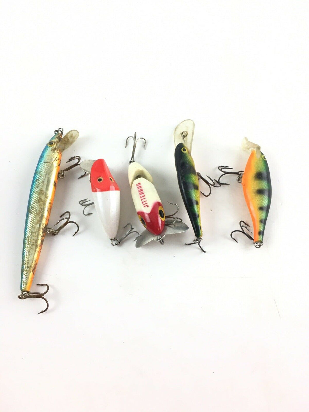 Vintage Fishing Lures Lot Of 5 5393