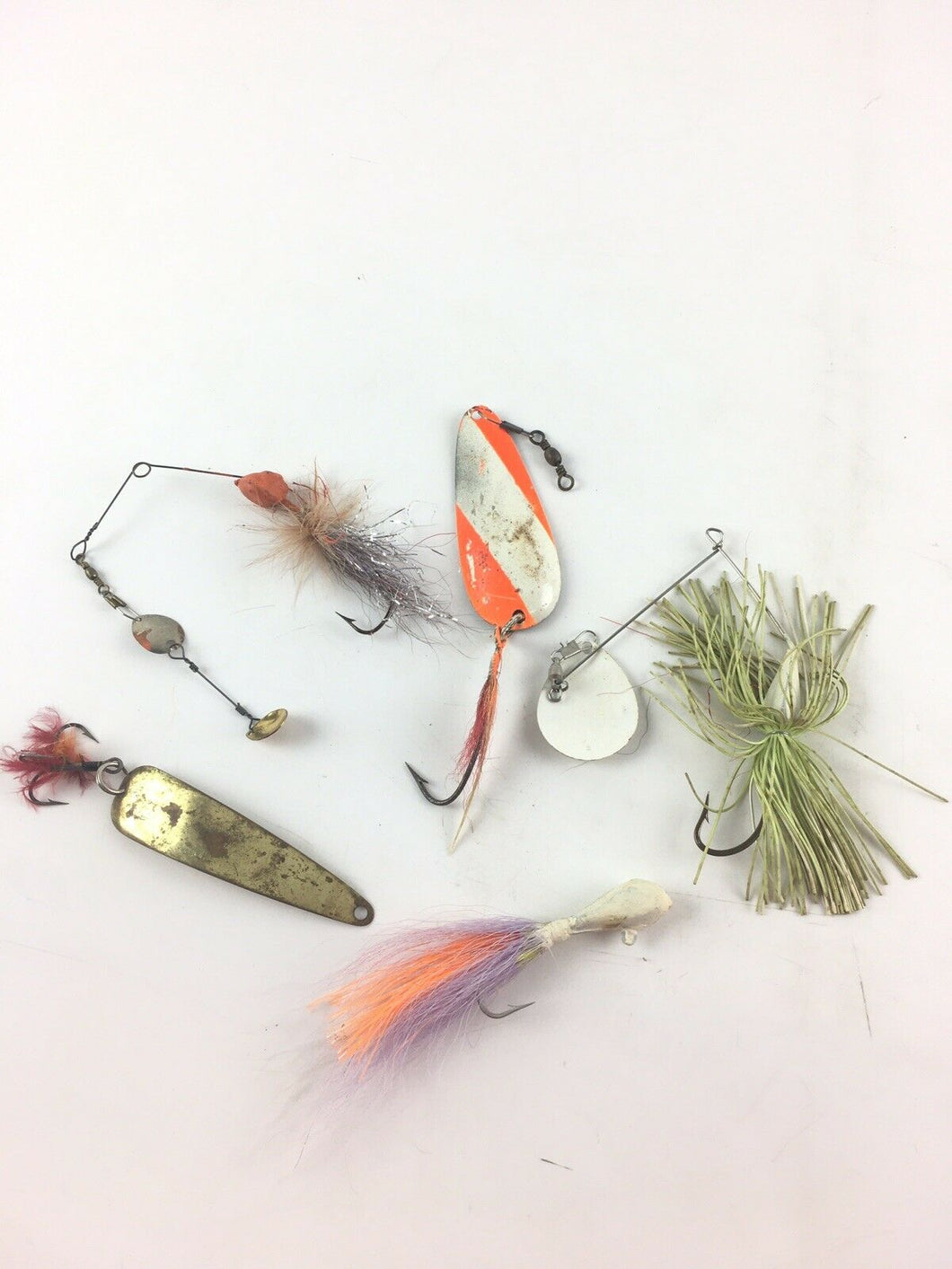 Vintage Fishing Lures Lot Of 5 5421