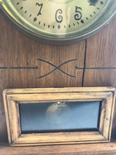 Load image into Gallery viewer, Antique Wooden New Haven Shelf Clock 8 Day- 5315