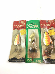 Vintage Fishing Lures Lot Of 5 Spinners 5003