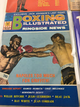 Load image into Gallery viewer, Assorted Lot Of 5 Vintage Boxing Magazines 1970 MINT- 5619