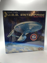 Load image into Gallery viewer, Polar Lights 1/350 Scale U.S.S. Enterprise NCC-1701-A + Aztek Dummy Paint Masks