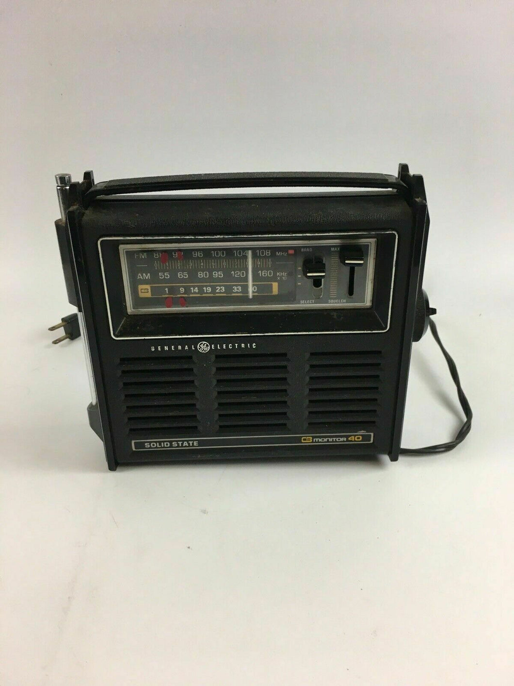 Vintage  General Electric CB Monitor 40 Solid State - Lot 4201