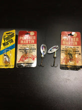 Load image into Gallery viewer, Vintage Fishing Lures Lot Of 5 Panther Martin 5783