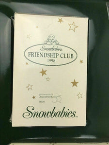 Snowbabies Friendship Club Department 56 -lot 507