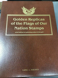 Golden Replicas of the Flags of Our Nation Stamps (Completed) -4439