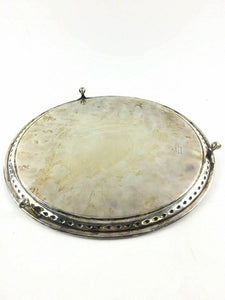 James Deakin & Sons Silver Plate Footed Round Platter/server 2033